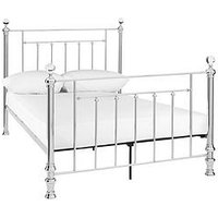 Product photograph showing Skye Metal King Size Bed Frame