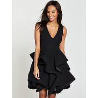 V By Very Tiered Ruffle Hem Dress