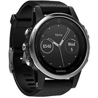 Garmin Fenix 5s Gps Multisport Watch - Black