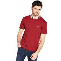 Lacoste Sportswear T-Shirt, Turkey Red, Size 3, Men