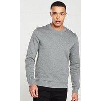 Lacoste Sportswear Classic Sweat, Grey, Size 7, Men