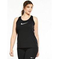 Nike Training All Over Mesh Tank (Plus Size) - Black , Black, Size 18-20=1X, Women