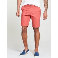 Lacoste Lacoste Sportswear Slim Fit Bermunda Shorts, Sierra Red, Size 40, Men
