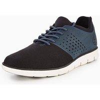 Timberland Bradstreet F/l Oxford Shoe, Navy, Size 7, Men