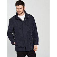 Lacoste Sportswear Field Jacket, Dark Navy Blue, Size 52, Men