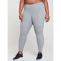 Nike Leg A See Legging (Plus Size) - Grey , Grey, Size 26-28=3X, Women