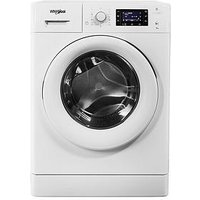 Whirlpool Freshcare+ Fwd91496W 9Kg Load, 1400 Spin 6Th Sense Washing Machine - White