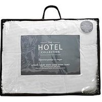 Product photograph showing Hotel Collection Ultimate Luxury White Goose Down 13 5 Tog Duvet