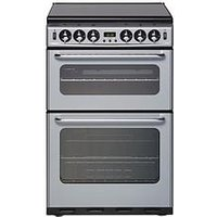 New World Nw Nh 550Tsidom 55Cm Gas Double Oven With Optional Connection - Silver