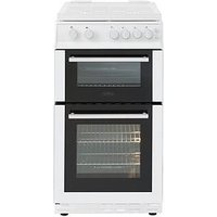Belling Bel Fs50Gdol 50Cm Gas Double Oven With Connection - White