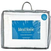 Product photograph showing Ideal Home Luxury Like Down Cotton Cover 7 5 Tog Duvet