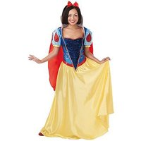 Disney Adult Snow White Costume, One Colour, Size S, Women