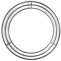 Product photograph showing Border Circle Mirror