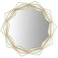 Ideal Home Arabian Nights Gold Metal Frame Mirror