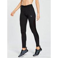 Puma En Pointe 7/8 Tights - Black , Black, Size M/12, Women