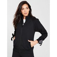 Puma Archive Bow Track Jacket - Black, Black, Size M, Women