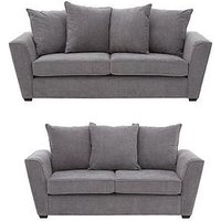 Cavendish Kendra 3 Seater + 2 Seater Fabric Sofa Set (Buy And Save!)