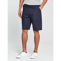 V by Very Tech Cargo Short, Navy, Size 34, Men
