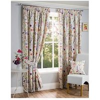Product photograph showing Hampshire Pleated Lined Curtains