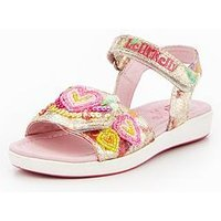 Lelli Kelly Girls Mila Embellished Sandal - Multi, Multi, Size 2 Older