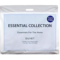 Product photograph showing Essentials Collection Essentials 13 5 Tog Duvet