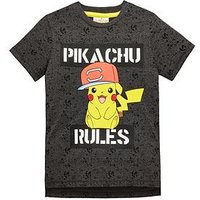 Boys, Pokemon Unisex T-shirt, Multi, Size Age: 9-10 Years