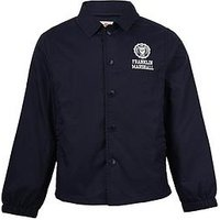Franklin & Marshall Boys Coach Jacket, Navy, Size Age: 14-15 Years