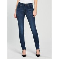 Levi's 721 High Rise Skinny Jean - Game On, Game On, Size 30, Inside Leg 34, Women