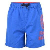 Franklin & Marshall Boys Logo Swim Shorts, Blue, Size Age: 10-11 Years