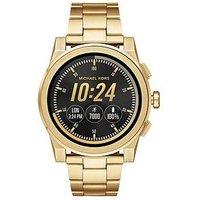 MICHAEL KORS MKT5026 Access Grayson Gold Tone Mens Smartwatch, One Colour, Men