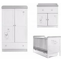 Obaby Winnie The Pooh 3-Piece Furniture Set - Dreams & Wishes, One Colour