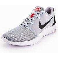 Nike Flex Contact 2, Grey/Black/Red, Size 10, Men