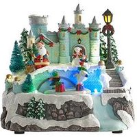 Animated Led Scene With Castle - 20Cm