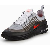 Nike Air Max Axis, Grey/Black/Red, Size 12, Men