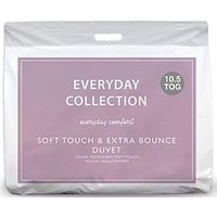 Everyday Collection Soft Touch &Amp; Extra Bounce 10.5 Tog Duvet