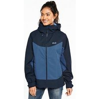 Jack Wolfskin Jack Wolfskin North Ridge Waterproof Jacket, Blue, Size Xs, Women