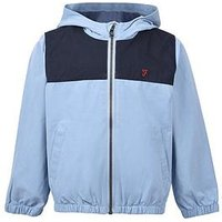 Farah Boys Over The Head Windcheater, Blue, Size Age: 6-7 Years