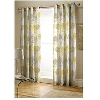 Catherine Lansfield Banbury Lined Eyelet Curtains