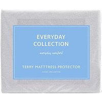 Product photograph showing Everyday Collection Terry Cotton Waterproof Mattress Protector