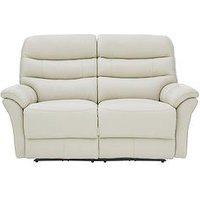 Dahl 2 Seater Premium Leather Power Recliner Sofa