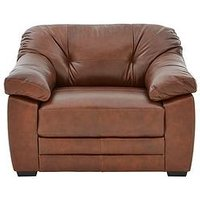Hemsworth Premium Leather Armchair