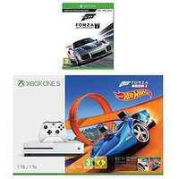 Xbox One S 1Tb Console With Forza Horizon 3 Hot Wheels And Forza 7 Plus Optional Extra Controller And/Or 12 Months Xbox Live - X