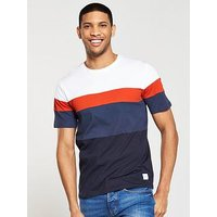 ONLY & SONS Only &Sons S/S Boris T-shirt, Multi, Size S, Men