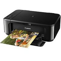 Canon Pixma Mg3650 Multifunction Printer - Black - Printer With Pg-540/Cl-541 Ink