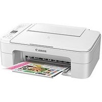 Canon Pixma Ts3151 Printer White With Pg-545/Cl-546 Ink - Printer Only