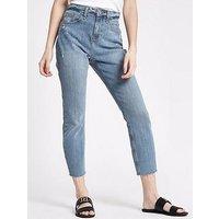 RI Petite Casey Ramsey Jeans - Mid Wash, Mid Wash, Size 4, Women