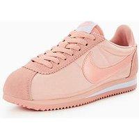 Nike Classic Cortez Nylon - Pink, Pink, Size 7, Women