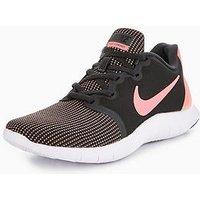 Nike Flex Contact 2 - Dark Grey/Pink , Dark Grey/Pink, Size 8, Women