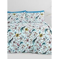 Jade Oriental Easy Care Duvet Cover Set