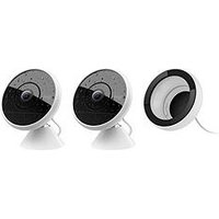 Logitech Circle 2 Bundle - 2 Wired Circle Cameras Plus Window Mount